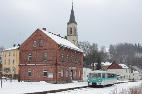 772 173 als private Sonderfahrt in Neuhausen