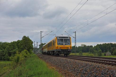 DB Systemtechnik Messzug bei Colmnitz