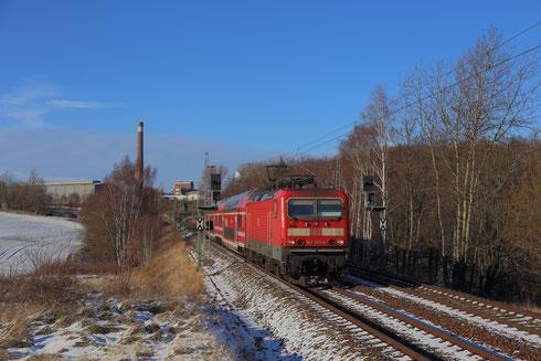 143 283 mit S30 hinter Freiberg
