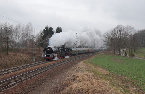 01 509 und 35 1097 mit DPE 95951 in Niederborbitzsch