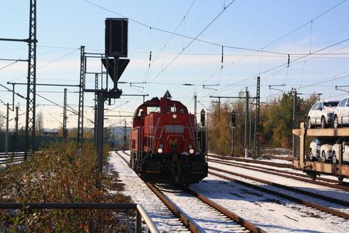 261 025 in Glauchau