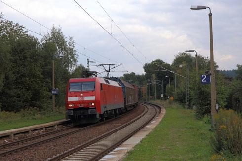 152 064 mit GA 52813 in Kleinschirma