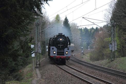 01 533 mit Sdz nach Dresden