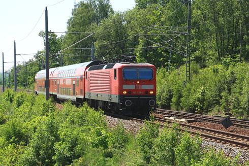 143 339 mit RB nach Dresden