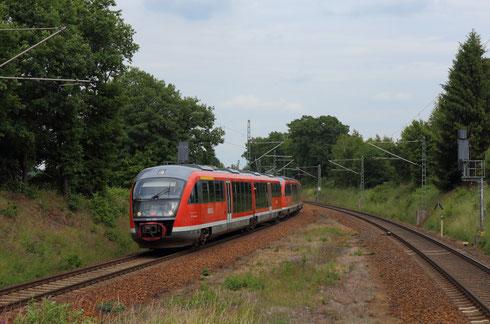 642 539 und 642 541 als S 30 in Niederbobritzsch