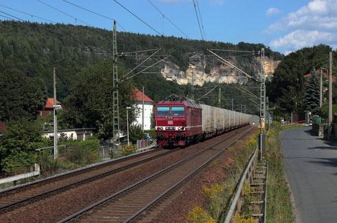 180 006 mit GA 47306 in Stadt Wehlen