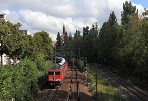 155 253 mit Autozug 44386 in Chemnitz