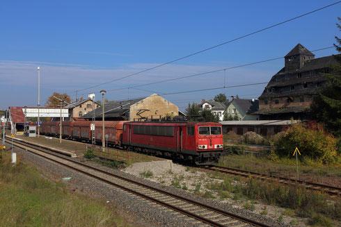 155 182 mit EZ 52523 in Oberlichtenau