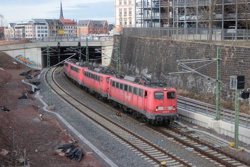 140 172 und drei weitere 140 in Chemnitz auf dem Weg nach Nürnberg