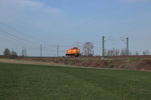 V60 1264 auf dem Weg von Chemnitz nach Dresden