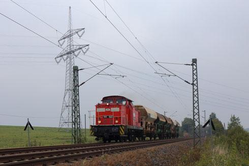 106 004 mit Fcs Wagen bei Colmnitz