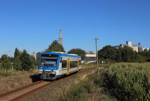 650 056 auf der Zellwaldbahn hinter Großschirma