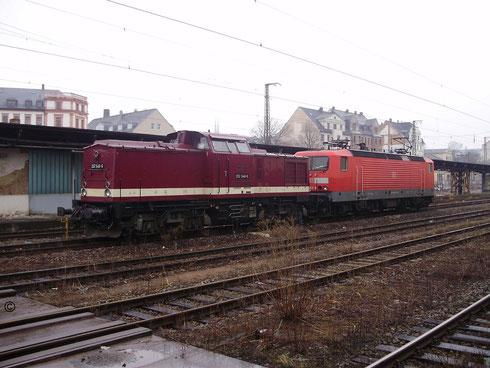 ...202 646 auf dem Chemnitzer Hauptbahnhof (Bilder mit Erlaubnis des Erstellers eingestellt)