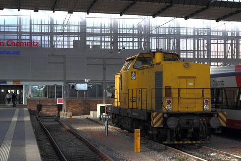 293 510 im Chemnitzer Hauptbahnhof