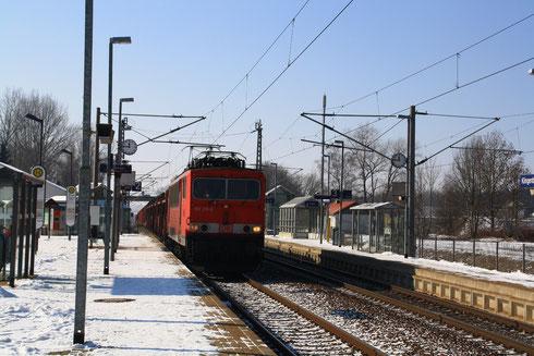 155 211 mit Gz in Klingenberg-Colmnitz