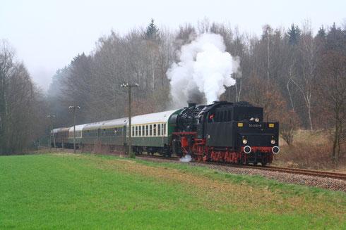 50 3610 auf dem Rückweg nach Nossen bei Kleinwaltersdorf