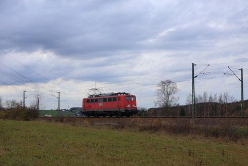 140 772 ex DBSR, ex RBH und jetzt im Dienst vom Erfurter Bahnservice