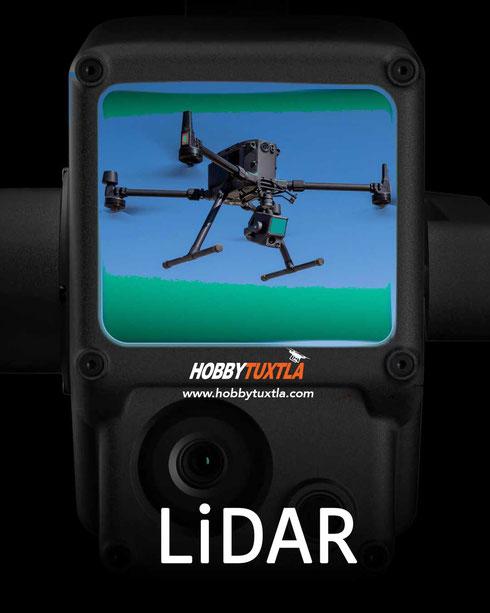 LiDAR en drones Matrice 300 RTK con sensor Zenmuse L1 para obtener nube de puntos 3D