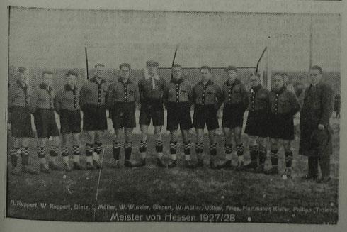 VfR Wormatia Worms - Hessenmeister 1927/28
