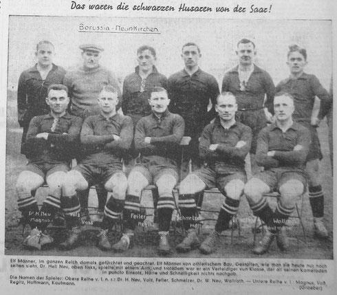 VfB Borussia Neunkirchen - Die schwarzen Husaren von der Saar