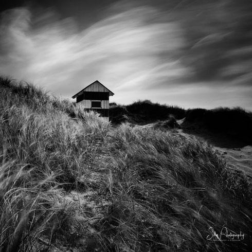 Dänemark / Nordjütland / Vorupør, kleiner Leuchturm, Langzeitbelichtung, 2014, © Silly Photography