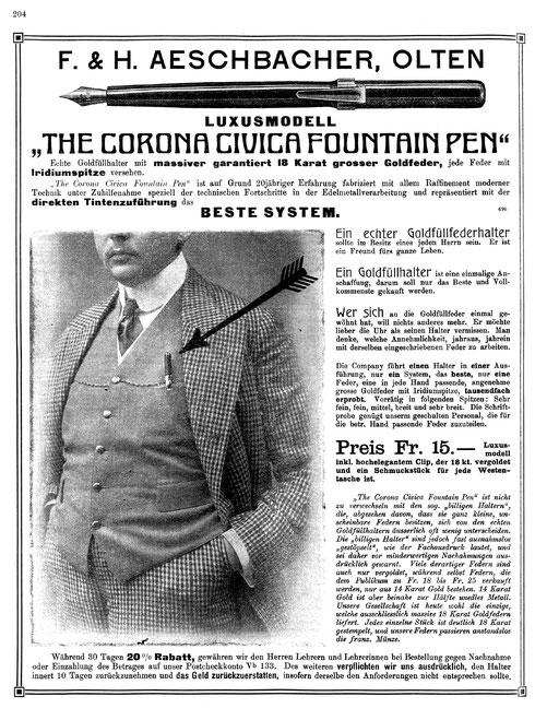 1911 Schweizerische Lehrerzeitung