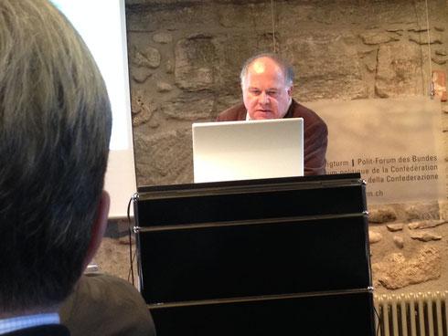 Dr. Werner Nussbaum, Präsident IZS