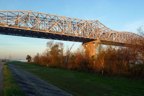 Huey P Long Bridge, Bridge City, LA