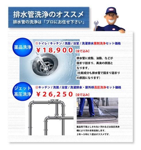 高圧洗浄サービス