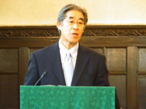 青山学院大学 仙波憲一学長の祝辞