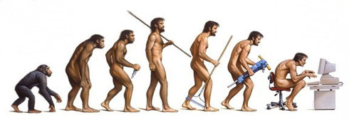 Evolution of Man by Braldt Bralds