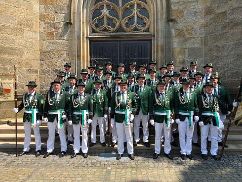 Die Ehrengarde 2019