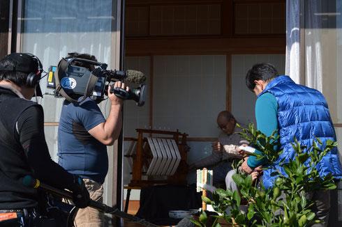 カメラマンさんが持っているこのカメラ、なんと300万円もするそうです。モニターを見せて頂きましたが、すごくきれいでした