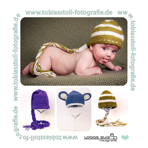 Neugeborenen Mützen