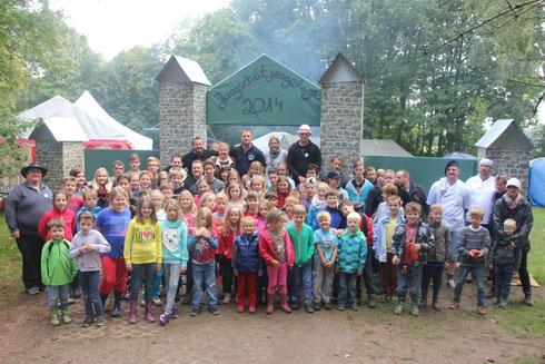 Jungschützengelage zu Wegberg vom 22 - 24.08.2014
