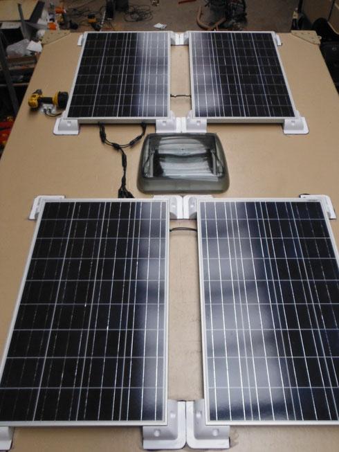 14.02.2014 - Testlauf der Solaranlage