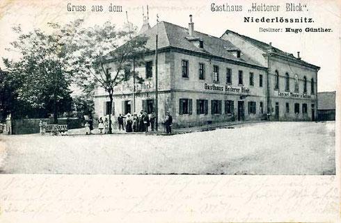 Das Gasthaus im Jahr 1902