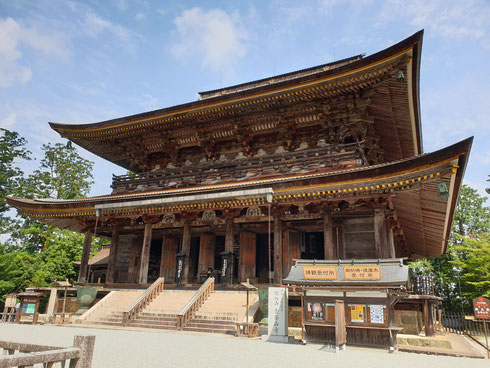 KIMPUSENJI SHUGENDO TEMPEL IN YOSHINO