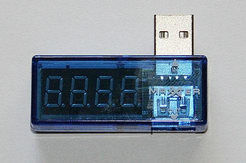 Messgerät für Spannungen und Ströme angeschlossener USB-Geräte