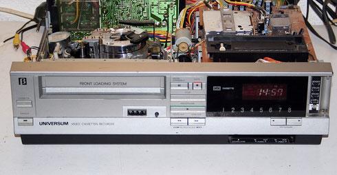 Universum VR2936 Betamax (baugleich mit Toshiba V-31)