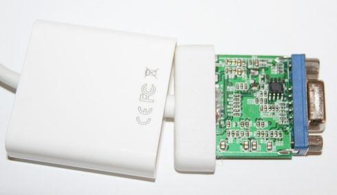 Der HDMI-VGA-Adapter - Elektronische Basteleien