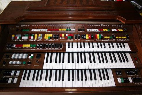 Elektronische Orgel Yamaha D 85 von 1980