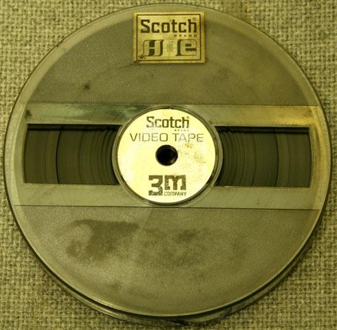 Videoband für den LDL 1002 auf 13-Zentimeter-Spule