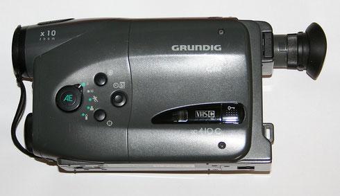 Camcorder für VHS-C-Videokassetten Grundig LC 410 C