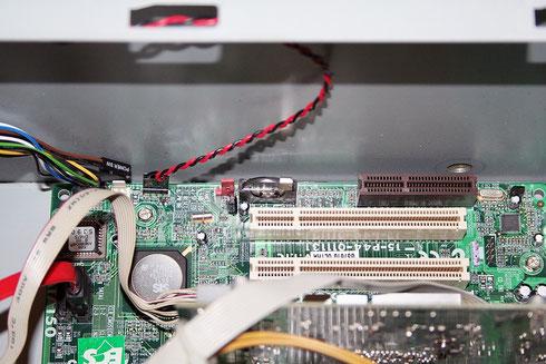 Batterie für CMOS-RAM auf dem Computer-Mainboard