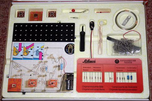 Schuco (Philips) Electronic Start Lab A6121 Inhalt