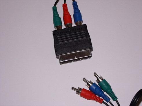Die richtigen Adapter erleichtern den Anschluss des Gerätes.