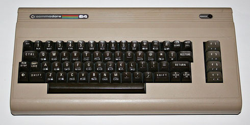Original C64 Homecomputer aus dem Jahr 1984