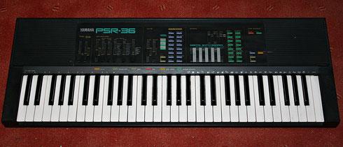 Keyboard Yamaha PSR 36 (1988)