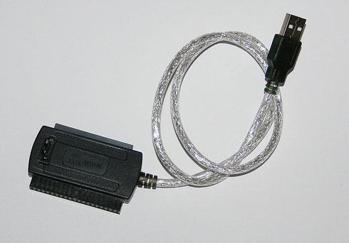 IDE- und SATA-Adapter mit USB-Kabel
